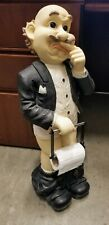 Old Man Butler pant-less TOILET PAPER HOLDER rare? funny?