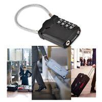 TSA Resettable 4 Digit Combination Lock Travel Luggage Suitcase Lock Padlock