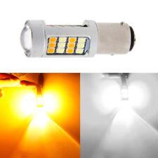 1157 BAY15D Super Bright White/Amber Switchback 2835 42 LED Light Turn Signal