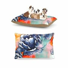 "Kess InHouse Sonal Nathwani ""Bloom"" Fleece Huge Dog Pet Bed, 30 by 40-Inch"