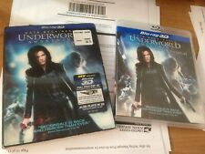 Underworld: Awakening (Blu-ray 3D) With LENTICULAR SLIPCOVER! Free USA Shipping!