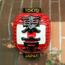 Japan Laterne Reiseandenken 3D Polyresin Kühlschrankmagnet Reise Souvenir Magnet