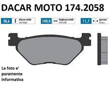 174.2058 PASTILLA DE FRENO SINTERED POLINI YAMAHA : T MAX 500 Carburador