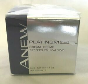 NIP Avon ANEW Platinum Day Cream SPF 25 UVA/UVB - 1.7 ounce