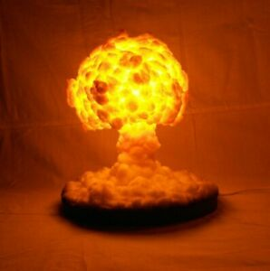 LED Nuclear Explosion NighlLight/Lamp || Nuclear cloud || Mushroom cloud || Nuke