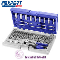 """EXPERT BY FACOM 1/4"""" SOCKET AND ACCESSORY SET, METRIC & INCH, 73 PC - E030707"""