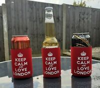 London Keep Calm And Love London Bottle & Can Cooler Multi-buy Offer!!