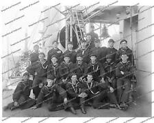 Vintage photo-Berth Deck Cooks-Navy Ship 3-8x10 in.