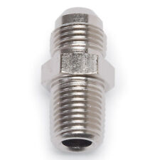 """Russell 660411 AN Adapter Fitting -3 AN Male to 1/8"""" NPT Male Straight Silver"""