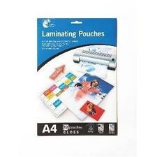 LAMINATING POUCHES A4 PACK OF 10
