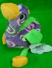SOFT PLUSH TOY 20 CM EMU SWIRL PURPLE DINKI DI CUDDLES FREE DELIVERY NEW