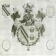 Matteo de Capoue Marcio Colona Colonna Blason Chevalier Toison d'or  XVIIe