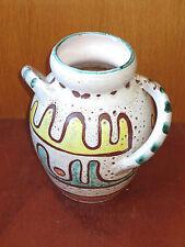 Ancien vase pot fleur en terre vernissee savoie de style cruche french antique