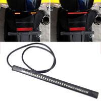 48 LED Motorrad Rücklicht Universal SMD Bremslicht Flexibel Blinker Strip Lampe