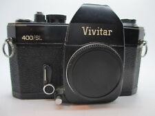 VIVITAR 400/SL SLR 35MM M42 screw mount CAMERA. Working