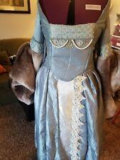 Blue and Ivory Tudor Renaissance dress