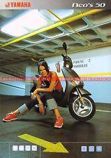 YAMAHA NEO'S 50 - 2002 : Brochure - Dépliant - Moto - Scooter             #0676#