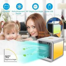 Mini Air Conditioning Conditioner Unit Fan Portable Low Noise Home Cooler USB