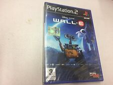 DISNEY PIXAR WALL E  PS2 PLAYSTATION 2 PAL NUOVO