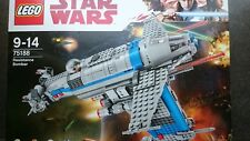 LEGO STAR WARS 75188 RESISTANCE BOMBER (OHNE FIGUREN) NEU 750 PCS. THE LAST JEDI