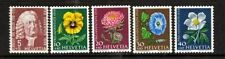 5 Number Swiss Stamps