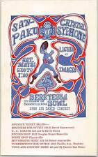 Sanpaku Crystal Syphone Original Handbill Berryessa Bowl Mike Welch 1968