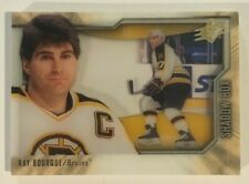 Ray BOURQUE Upper Deck 2010-11 UD SPX Hockey Shadow Box Card Bruins SP Case Hit