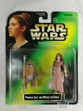 Star Wars 1997 Princess Leia Collection - Leia and Wicket the Ewok Carrie Fisher