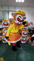Monkey King Mascot Adult Sun Wukong Costume Halloween Cartoon Party Dress Outfit