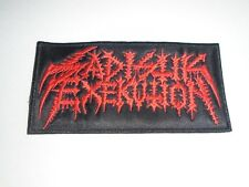 SADISTIK EXEKUTION BLACK/DEATH METAL EMBROIDERED PATCH