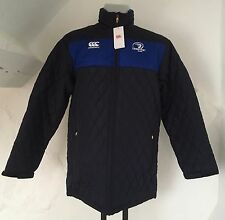 LEINSTER RUGBY PEACOAT BLUE PADDED JACKET  BY CANTERBURY SIZE ADULTS XXXL NEW