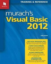 MURACH'S VISUAL BASIC 2012 - BOEHM, ANNE - NEW PAPERBACK BOOK