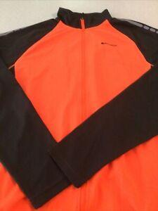Madison Stellar Mens Long Sleeved Thermal Jersey XL Orange Black