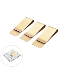Fashion Simple Metal Money Clip 2 Colors Man Clamp Holder For Money WalletecL