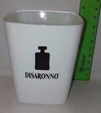 Disaronno White Double Old Fashioned  Square Tumbler Rocks Glass  Used