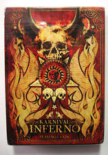 KARNIVAL INFERNO PLAYING CARDS - USPCC BICYCLE NEW SEALED