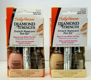 SALLY HANSEN Diamond Strength French Manicure Pen Kit PICK YOUR COLOR/SHADE