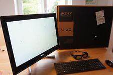 Sony Vaio All-In-One, 24-Zoll 3D Touchscreen, Intel Core i7 2,20Ghz, 1TB HDD