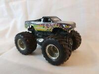 Hot Wheels Monster Jam Reptoid Mattel 2013 Used Great Shape Die Cast Metal Truck