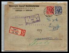 GP GOLDPATH: GERMANY COVER 1897 REGISTERED LETTER _CV778_P11