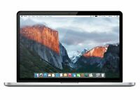 Apple MacBook Pro Retina Core i7 2.5GHz 16GB RAM 256GB SSD 15 MJLQ2LL/A