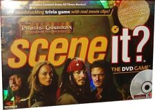 2007 SCENE IT ? PIRATES OF THE CARIBBEAN DEAD MEN TELL NO TALES DVD BOARD GAME""