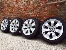 4x BMW 3er E90 Alufelgen Styling 158 6775596-13 Winterreifen MS 225 45 17 Zoll