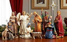 Nativity Sets Christmas Scene Three Kings Gifts 14 Piece Decorations Real Life