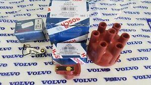 Volvo 164 69-71 B30 Engine & Volvo Penta AQ170 - Ignition Kit  Points,Cap,Rotor