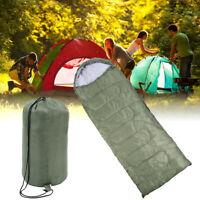 Mumienschlafsack Schlafsack Zelt Outdoor Camping Leichtes Reisen Winter Grün