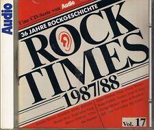 Audio ROCK Times Vol. 17 1987-88 CD Various Audiophile