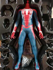 Hottoys HT VGM31 1/6 Scale Spider Man Action Figure Body PS4 Advanced Suit New