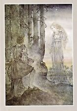 Sulamith Wulfing-Evening. Wishing Card.Vintage  FREE INT.SHIPPING