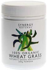 Synergy 100% Organic Wheat Grass Powder 200g